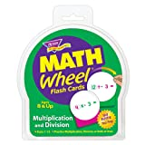 TREND enterprises, Inc. Multiplication and Division Math Wheel Flash Cards (Color: Multi)