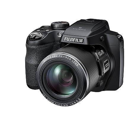 """Fujifilm Finepix S9200 Appareil photo numérique compact bridge 16,79 Mpix Écran LCD 3 """" Zoom optique 50x Noir"""