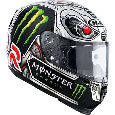R13LSXS - HJC RPHA10 Plus Lorenzo Speed Machine Motorcycle Helmet XS (MC5)