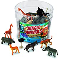 60-Piece Jungle Animal Counters Set