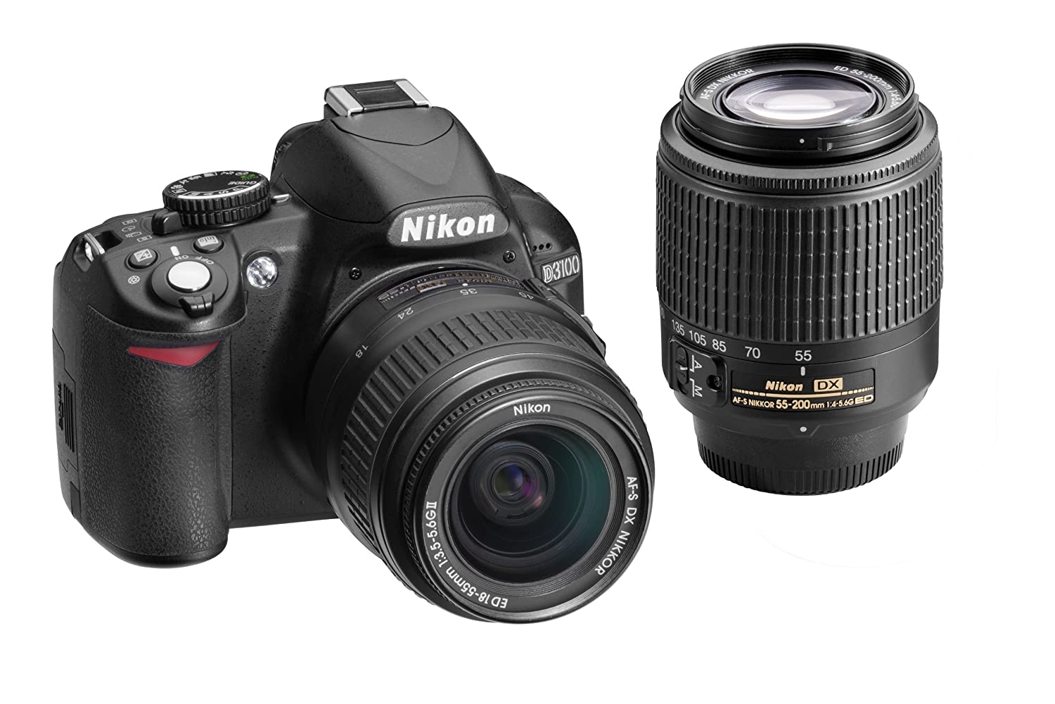 Gift of the Day: Save Big on the Nikon D3100 with Two Lenses and Get a Free Memory Card and Bag $496.95