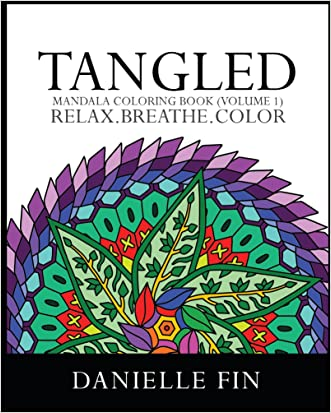 Adult Coloring Book: Tangled - Mandala Coloring Book (Volume 1) (Coloring book for Adults, Stress Relieving Patterns)