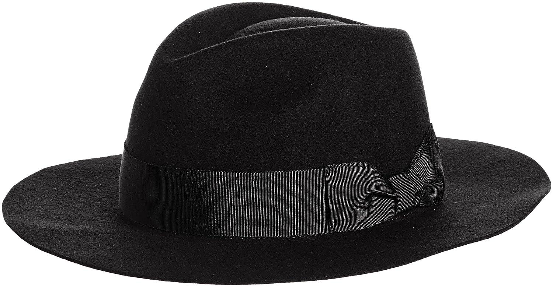 Amazon.co.jp: (スナイデル)snidel フェルトハット SWGH151649 9 BLK F: 服&ファッション小物通販