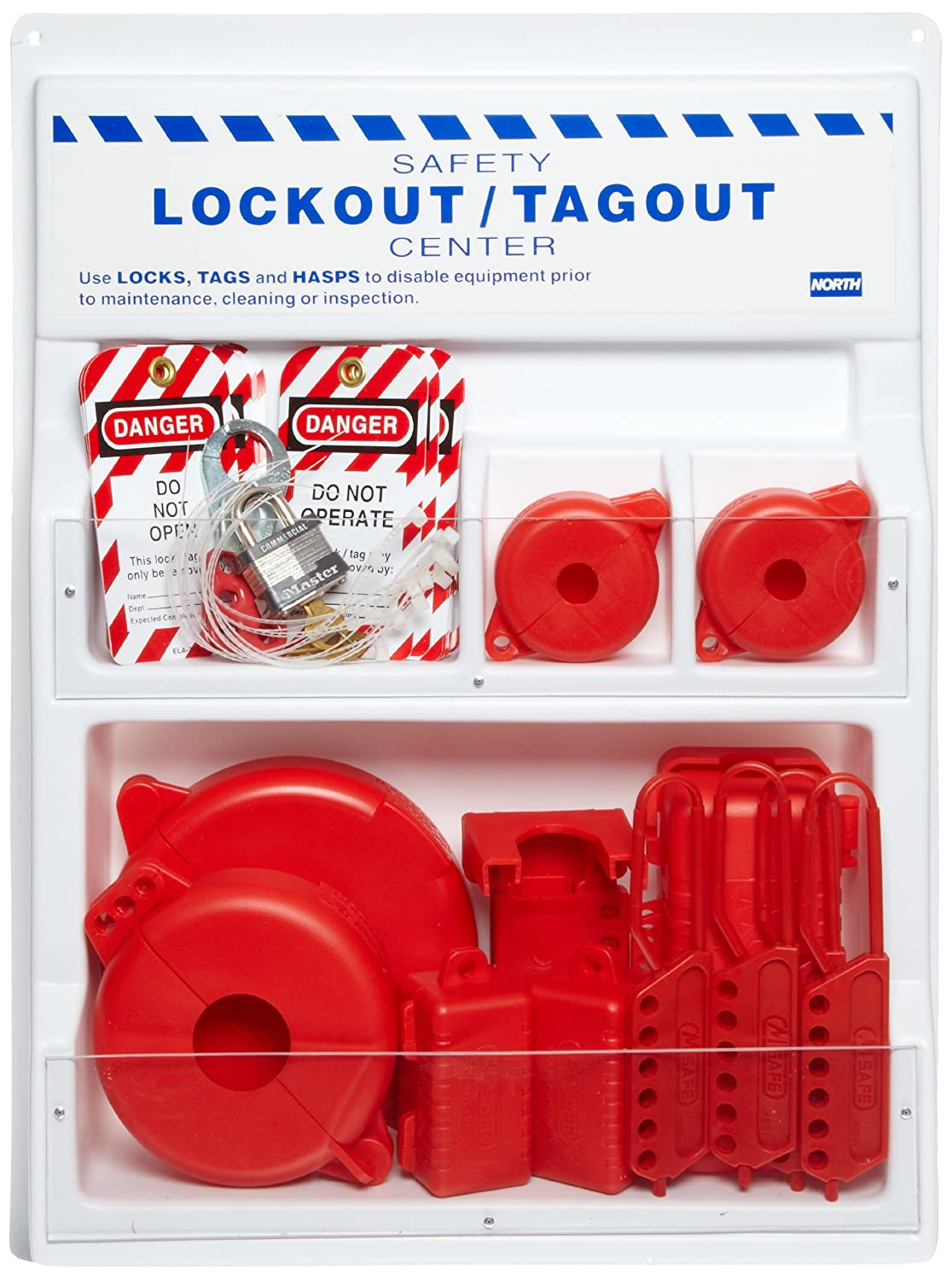 North Safety Panel Lockout Station, 18 Length, 24 Width maritime safety