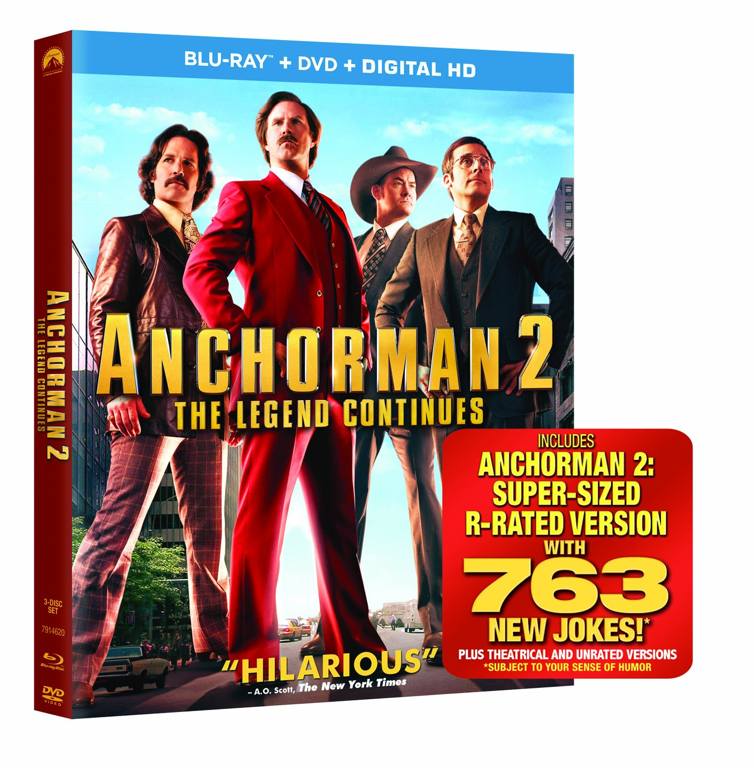 Anchorman 2: The Legend Continues