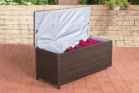 kudde auflagen Box 125*53*55cm marrone melange