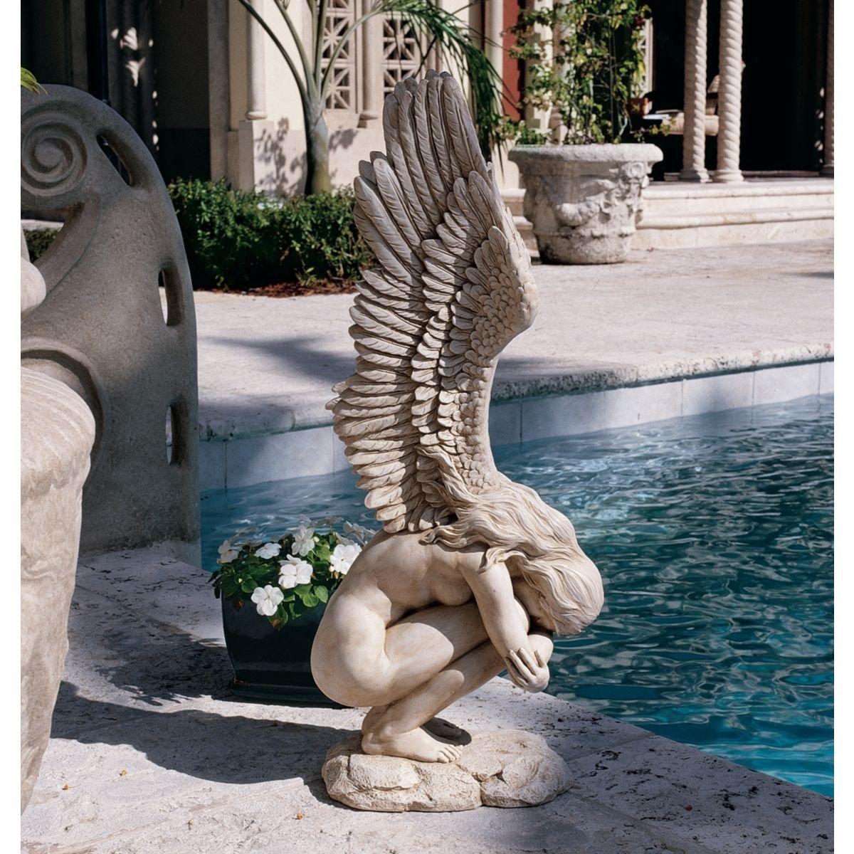 Boy Girl Statue
