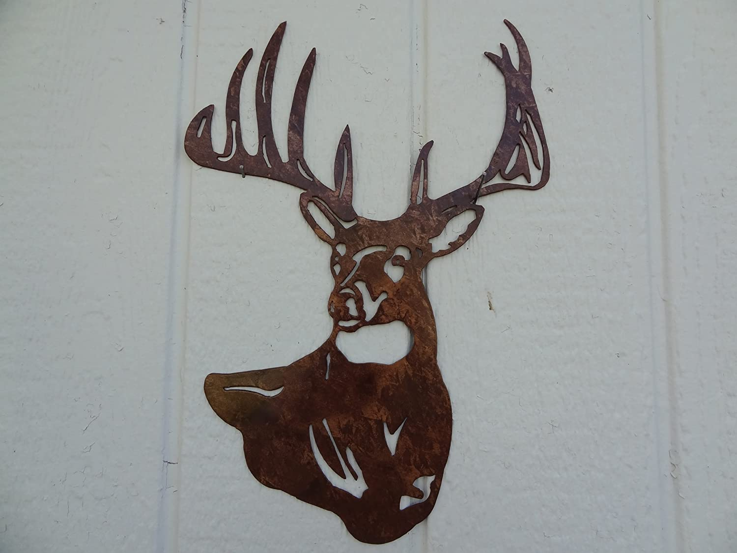 Wall Art Of Deer : Metal deer wall art images
