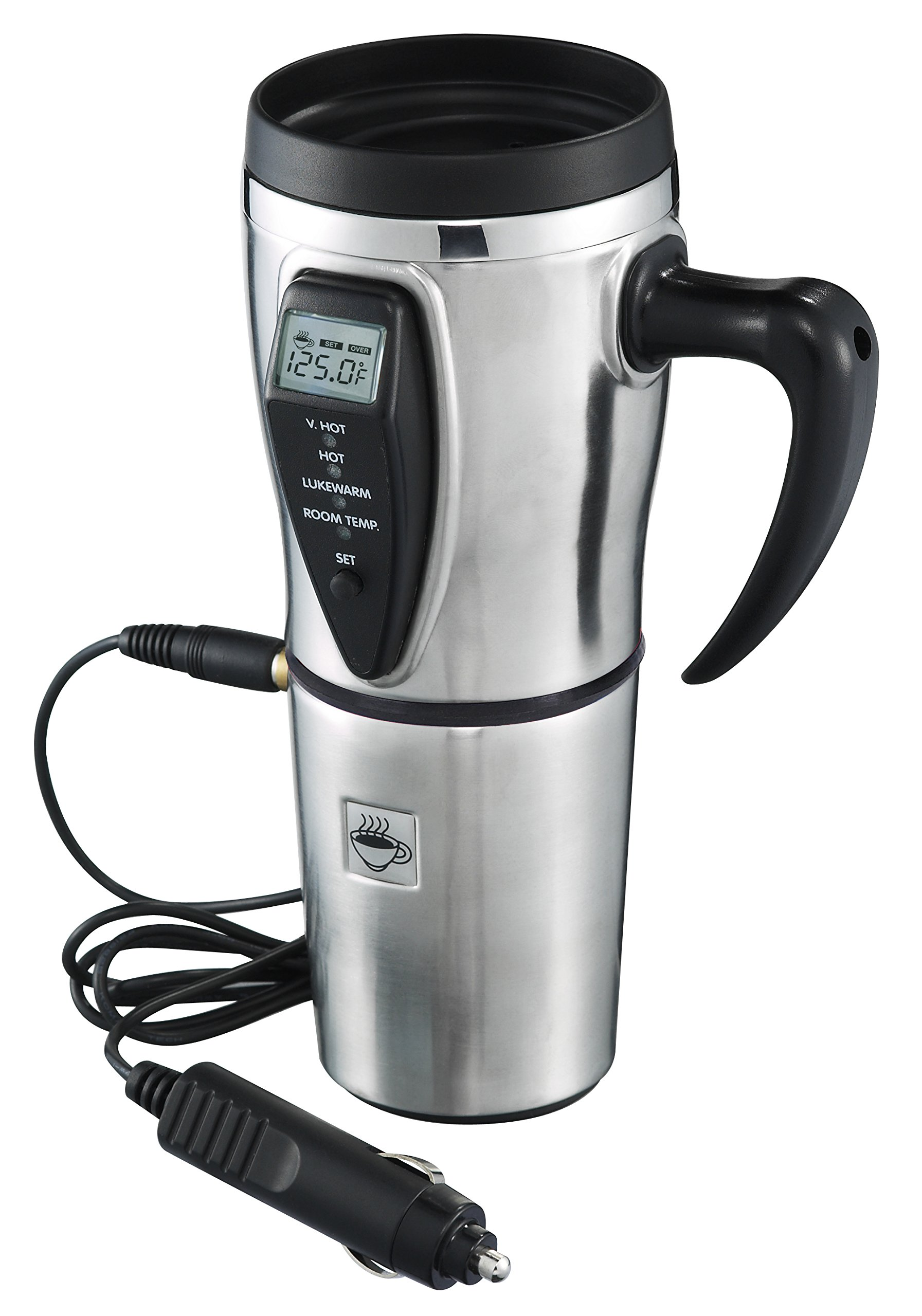 Stainless Steel Electric Smart Mug With Temperature