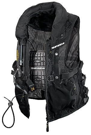 Spidi T152-026 Neck DPS Veste Moto Textile, Noir, Taille : 3XL