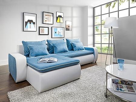 Couchgarnitur Couch VIVA Polstergarnitur Sofa Polsterecke mit Schlaffunktion