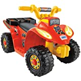 Power Wheels Nickelodeon Blaze & the Monster Machines, Lil' Quad (Color: Red, Tamaño: n.a.)