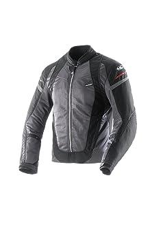 Clover 99177704_ 04AirJet à 3Femme Veste de moto Noir Taille L