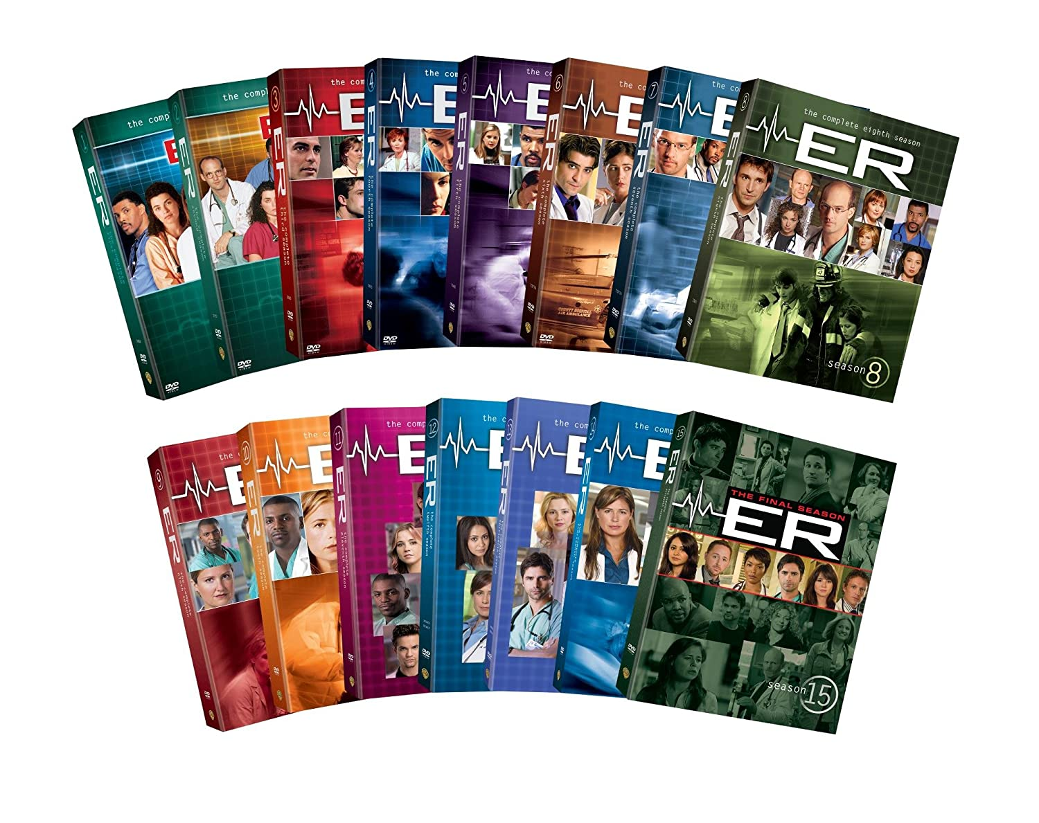 ER: The Complete Seasons 1-15 $149.11