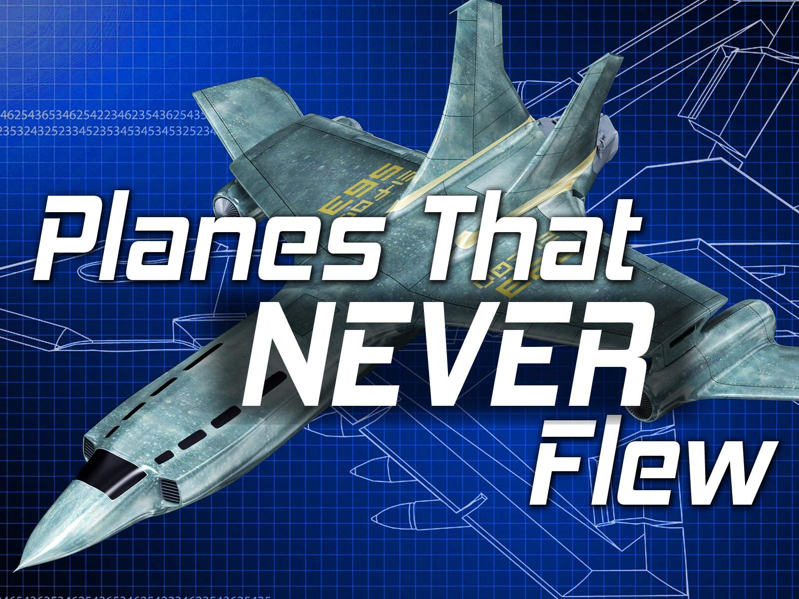Planes That Never Flew on Amazon Prime Video UK