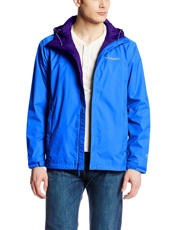 Columbia Men's Watertight II Front-Zip Hooded Rain Jacket columbia джемпер женский columbia fast trek ii