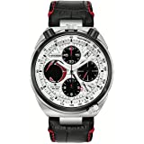 Men's Citizen Eco-Drive Promaster Tsuno Chronograph Racer Watch AV0071-03A (Color: Black and Red)