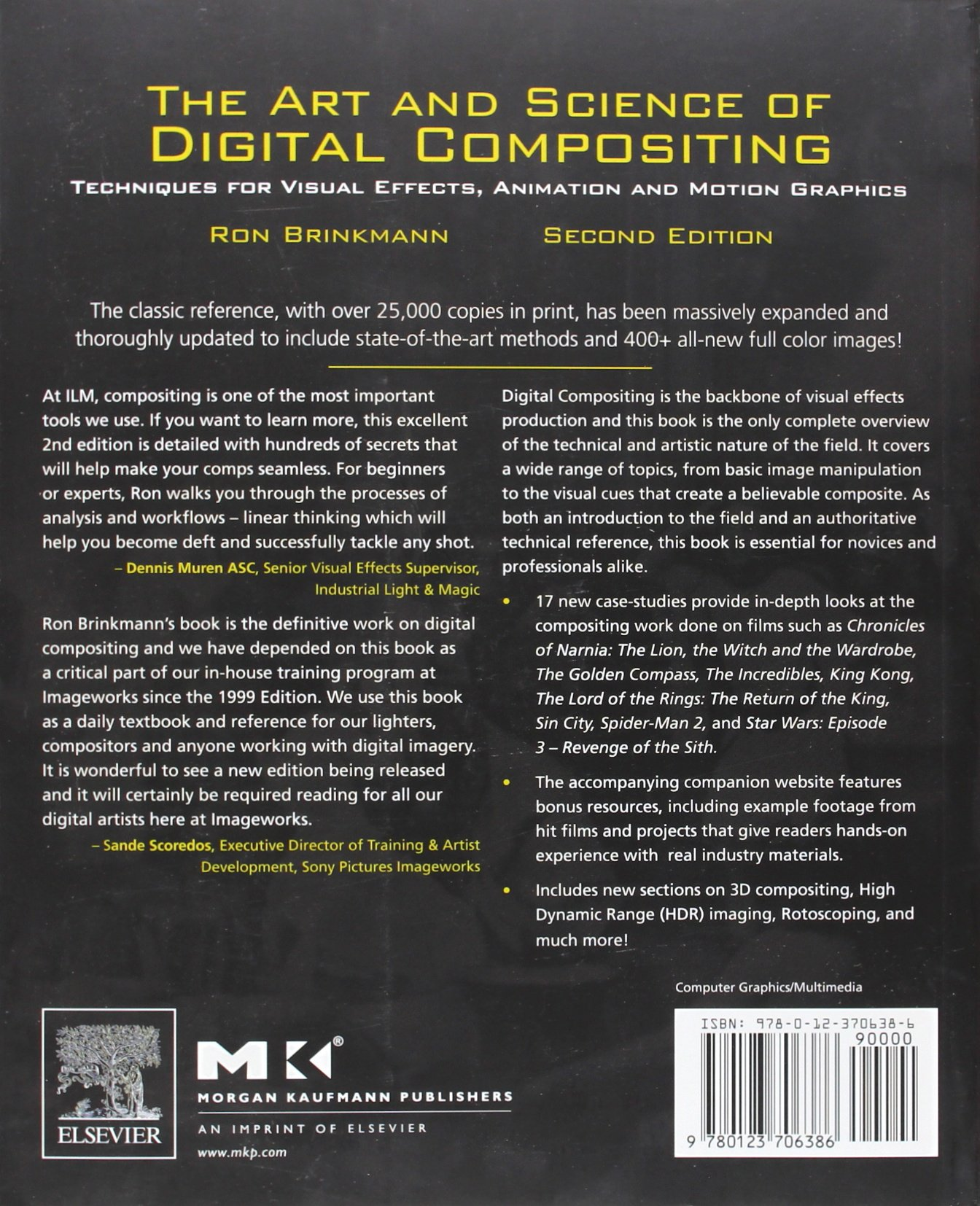 the art ans science of digital compositing cover2