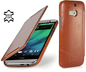 StilGut® Book Type, Leather Case for HTC One M8, Cognac Brownreview and more news