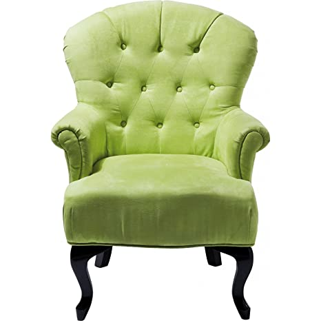 Kare 76109 Stuhl mit Armlehne Cafehaus grun