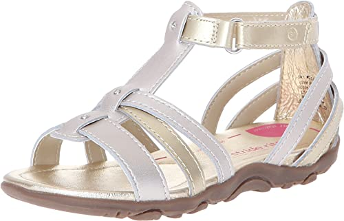 Girls' Cute Stride Rite PS Cameron Gladiator Sandal Discount Shopping