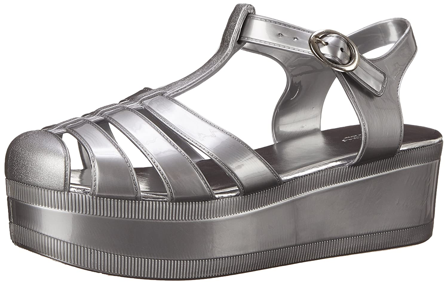 Wanted Shoes Women's Jellypop Jelly Sandal a wanted man