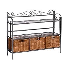 Celtic 3-Drawer Storage Shelf