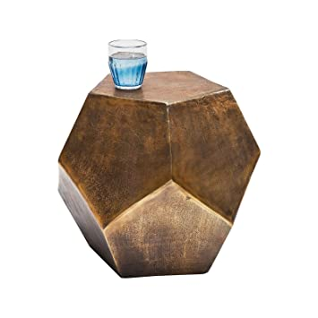 Table d appoint polygon Copper Kare Design