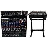 Peavey PV 14AT PV14AT Mixer,USB,Compressor/Effects+Bluetooth+AutoTune + Stand