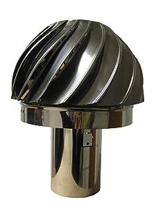 ROTOVENT RS2 PLUS Schornsteinaufsatz Ø 130 mm  BaumarktKundenbewertung und weitere Informationen