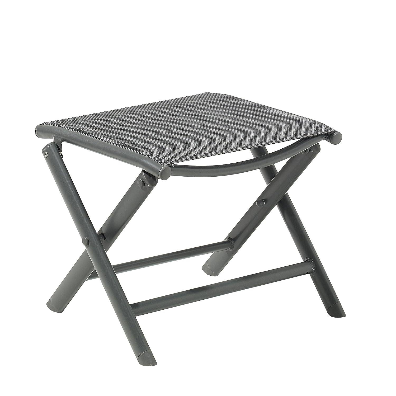 Greemotion Fußhocker Faro, anthrazit/schwarz, Artikelmaße: ca. 41 x 47 x 39 cm jetzt bestellen