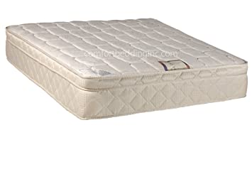 """Continental Sleep Mattress, 9"""" Pillow Top Fully Assembled Orthopedic Twin Size Mattress, Today's Dream Collection"""