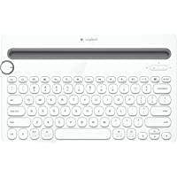 Logitech K480 Bluetooth Multi-Device Keyboard (White) - Refurbished