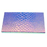 Large Empty Eyeshadow Makeup Box Magnetic Cosmetics Palette Eye Shadow Fish Scale DIY Storage Tray Box Holder, 18101cm (Tamaño: 18*10*1cm/7.07*3.93*0.39