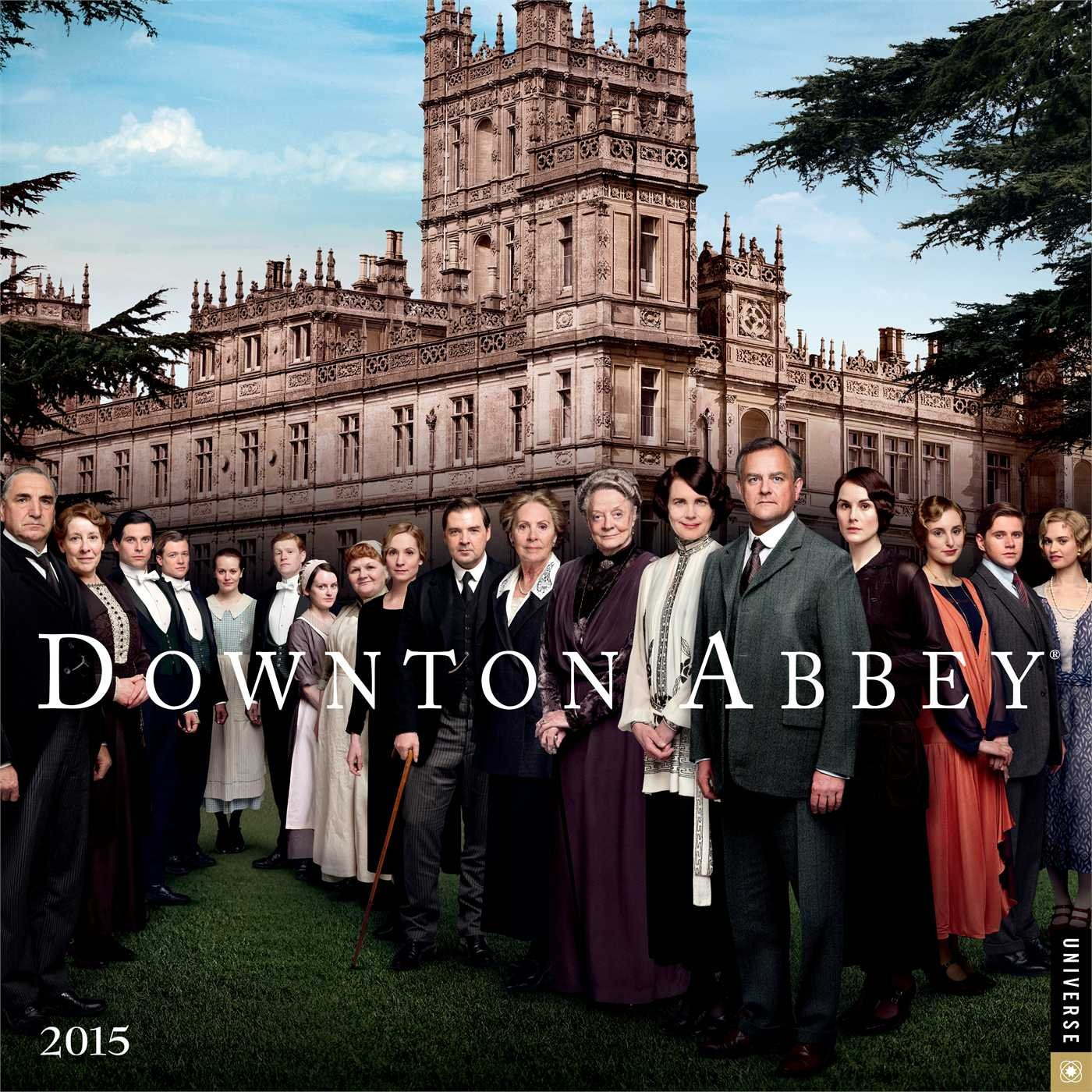 Downton Abbey 2015 Wall Calendar