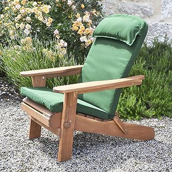 2 adirondack coussin pour chaises et et fauteuils de - Coussins pour fauteuils de jardin ...