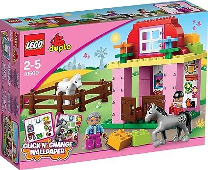 Lego Duplo Legoville - 10500 - Jeu de Construction - L'écurie