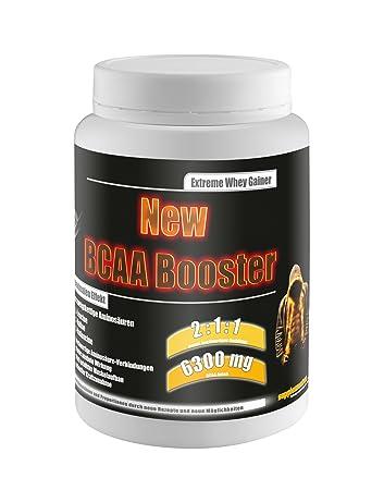 New BCAA Booster! 454g BCAA Amino Aminsäuren anabol Testosteron Fettabbau Anabolika Diät Muskelaufbau Nahrungsergänzung Geschmack Multifrucht