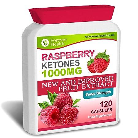 Raspberry Ketone PURE Extra Starken 1000mg Diätpillen PUR 120 Kapseln - Speziell Entwickelt Fur Super Schnelles Abnehmen - Verlieren Sie Bis 7.5 Kilos in 12 Wochen ! Unglaubliche Fettverbrennung Fatburner ! * Gratis Diät Plan * Raspberry Ketones