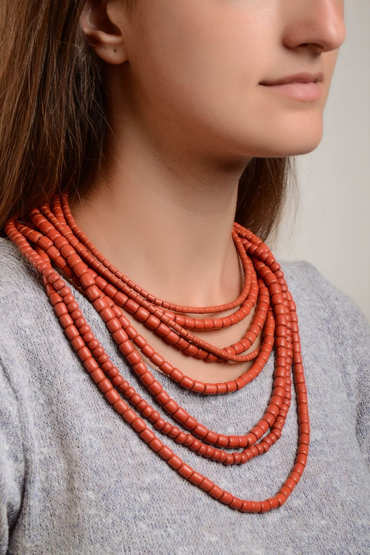 Halsketten Damen Keramik Schmuck handmade Damen Collier exklusiver Schmuck als Weihnachtsgeschenk kaufen