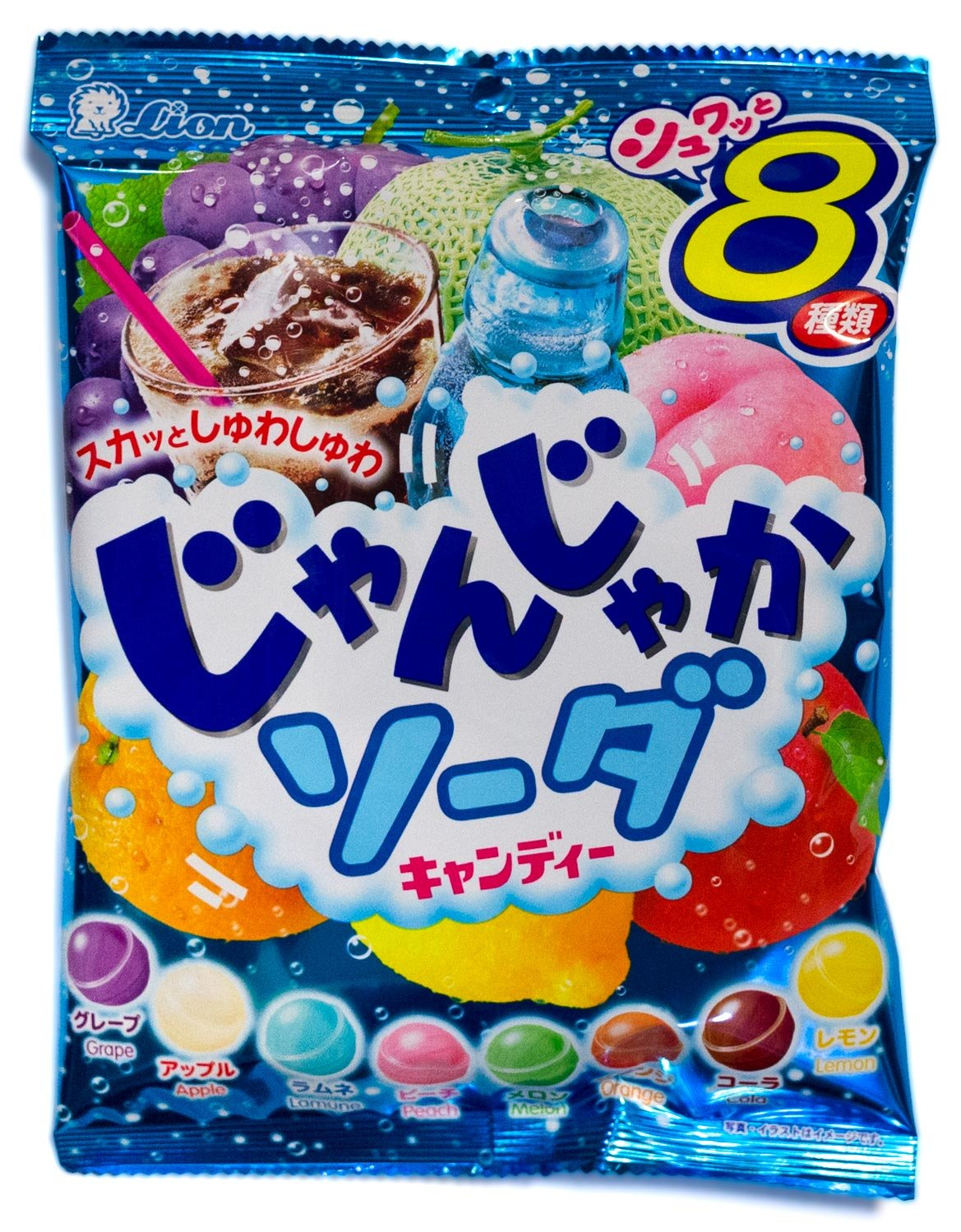 Soda Fizz Candy Soda Hard Candy Japanese