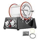 BestEquip Jewelry Polisher Tumbler 3kg 6.6 Lbs Capacity Jewelry Polisher Machine with Glass Barrel Mini Polisher Tumbler for Jewelry(3KG 6.6Lbs Capacity) (Color: 45W, Tamaño: 45W)