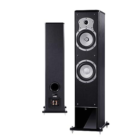 Roth Audio OLI40 Paire d'Haut-parleurs RCA/Jack Noir