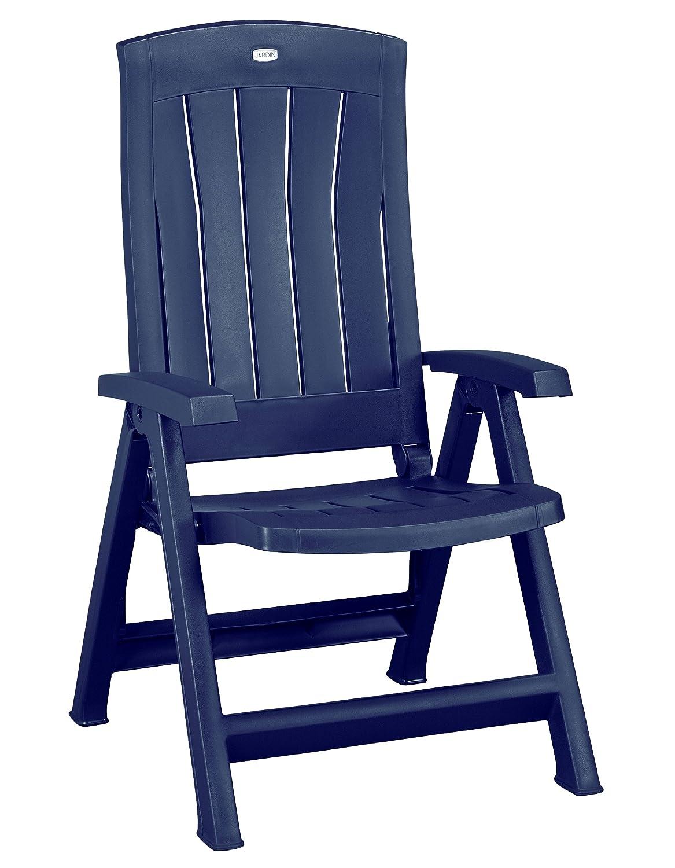 Jardin 182499 Klappsessel Corfu, Kunststoff, blau