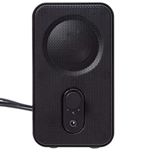 AmazonBasics Computer Speakers for Desktop or Laptop PC | AC-Powered (US Version) (Color: Black)