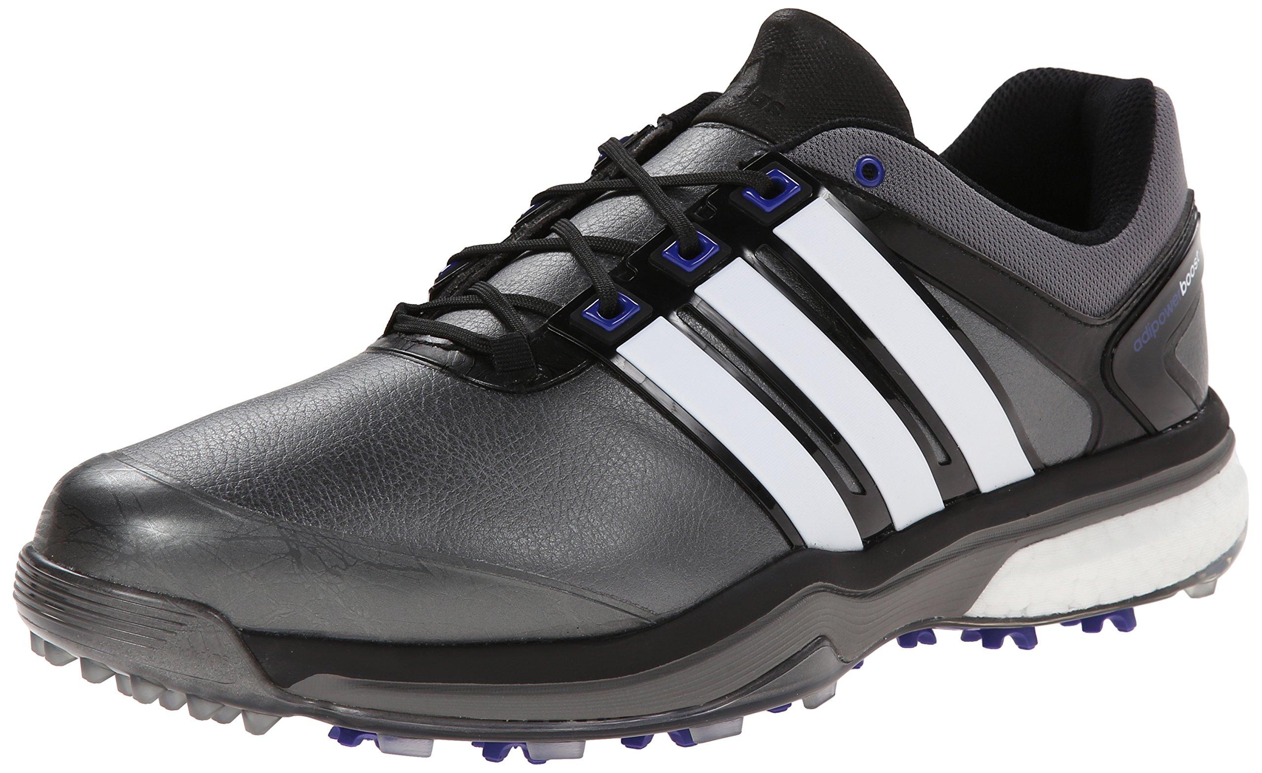 Adidas Adipower Boost  Golf Shoe Mens Black White Silver