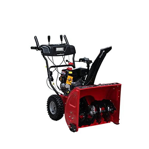 Power Smart DB7103-24 Two Stage Snow Thrower (208cc LCT Snow Engine) 24-Inch Wide