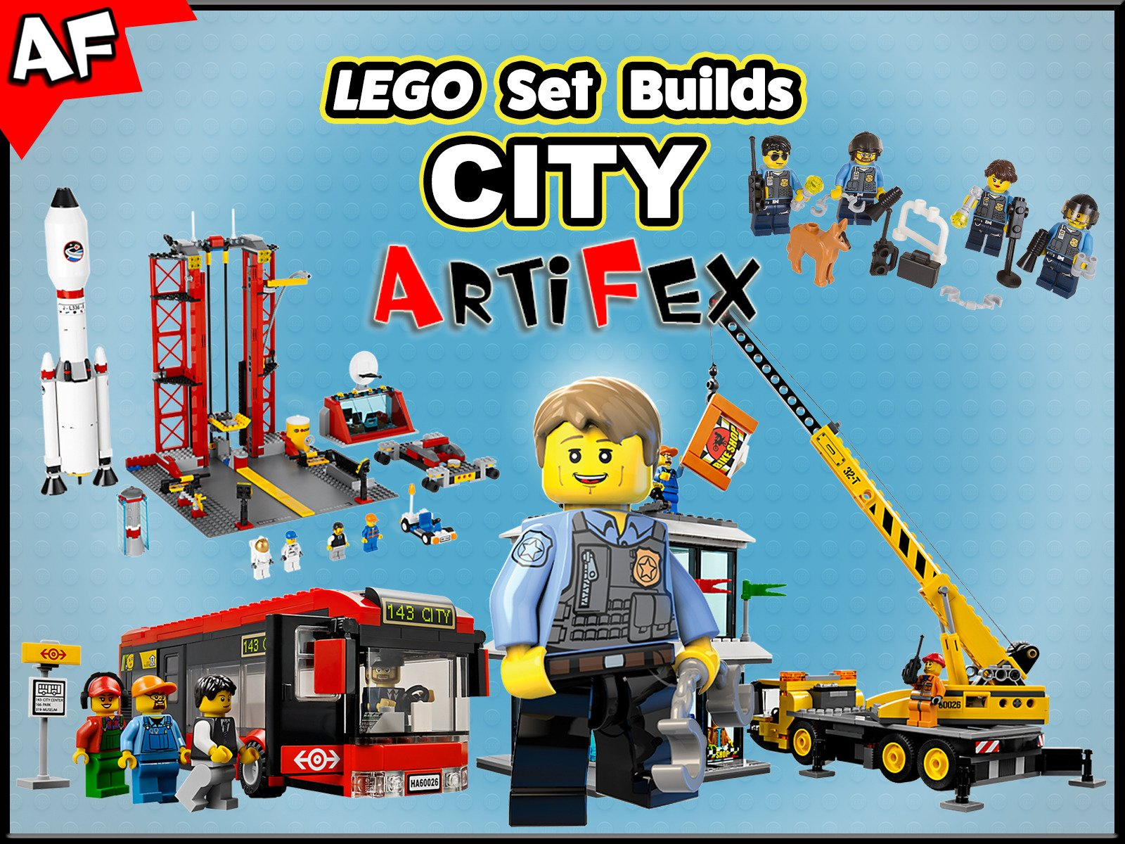 Clip: Lego Set Builds City - Season 3