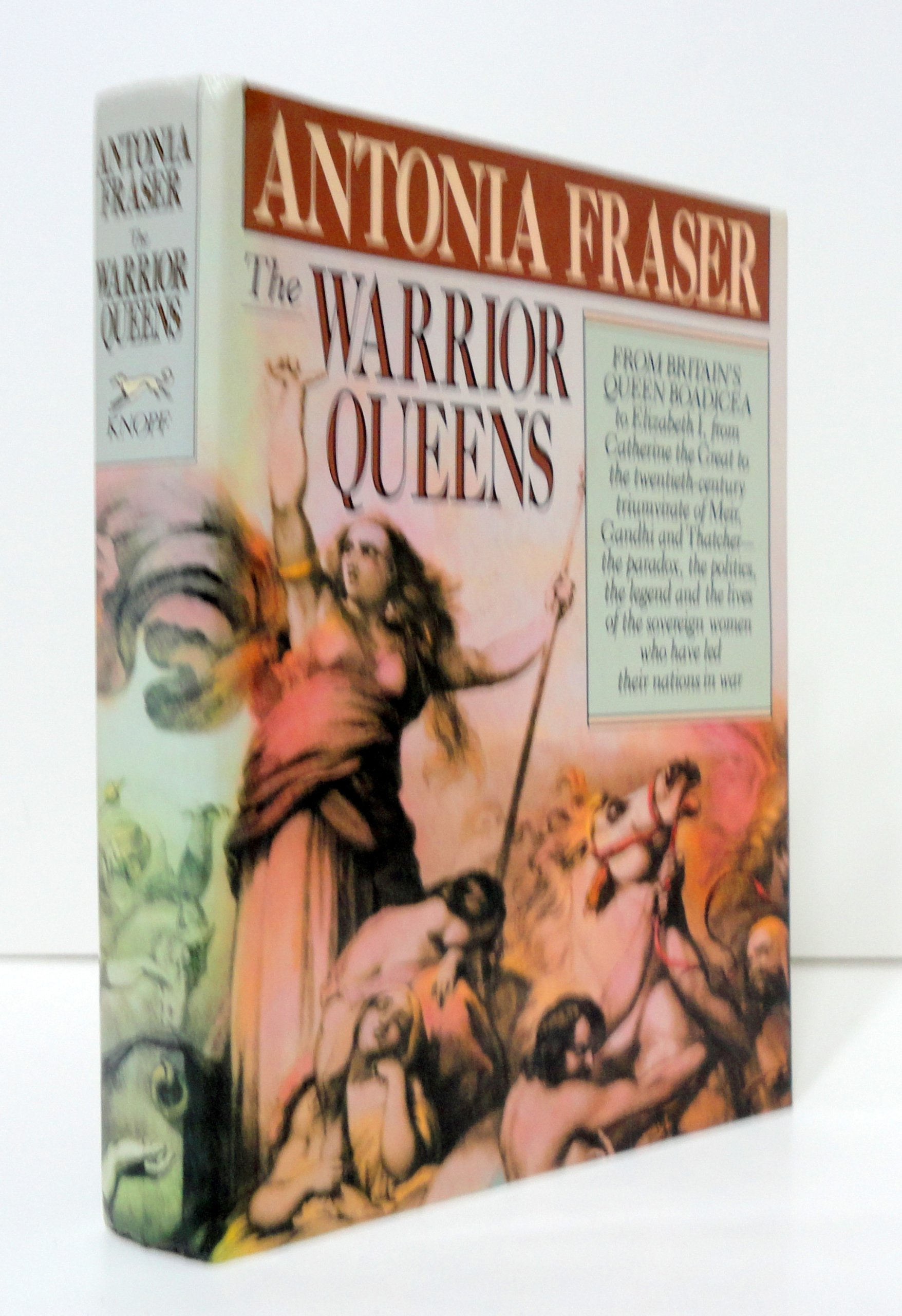 Buy The Warrior Queens Book Online At Low Prices In India  The Warrior  Queens Reviews & Ratings  Amazon