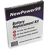 NewPower99 Battery Replacement Kit for Samsung Galaxy Note 10.1 GT-N8013 with Video Installation DVD, Installation Tools, and Extended Life Battery